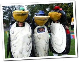 The Penguin Sumo Suit Game