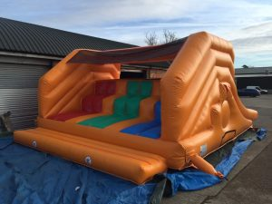 our new inflatable slide