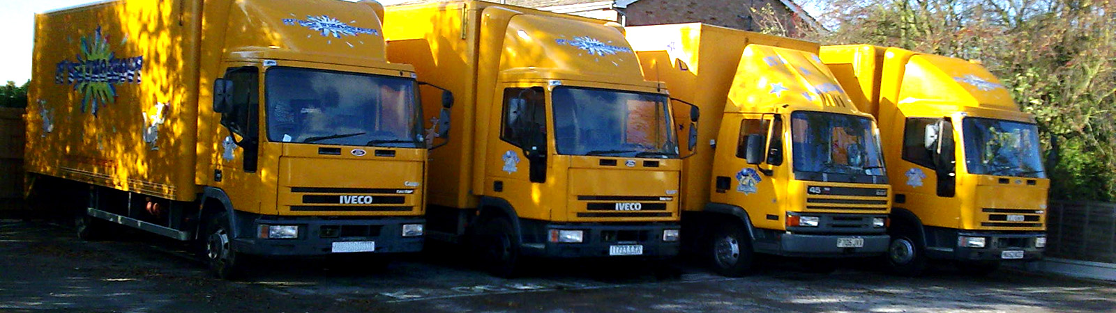 An image of our equipment vehicles