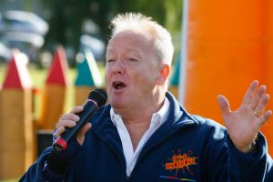 Keith Chegwin guest presents one of our It's A Knockouts