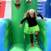 A school activity day It's A Knockout
