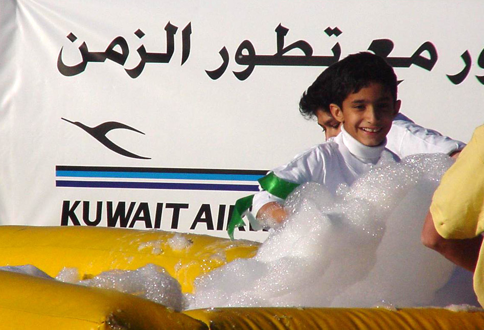 Our It's A Knockout in Kuwait