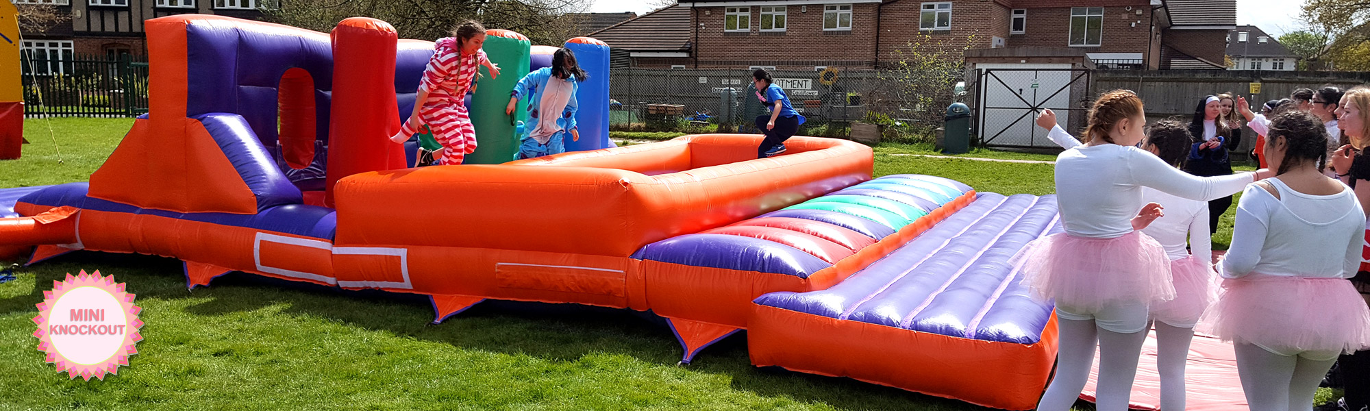 A Schools It's A Knockout game