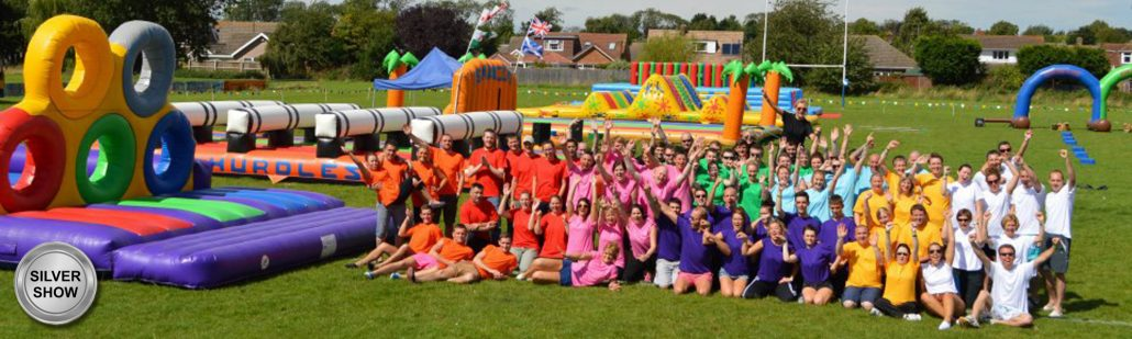 A company funday It's A Knockout