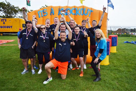 Pilgrims Hospice It's A Knockout Challenge