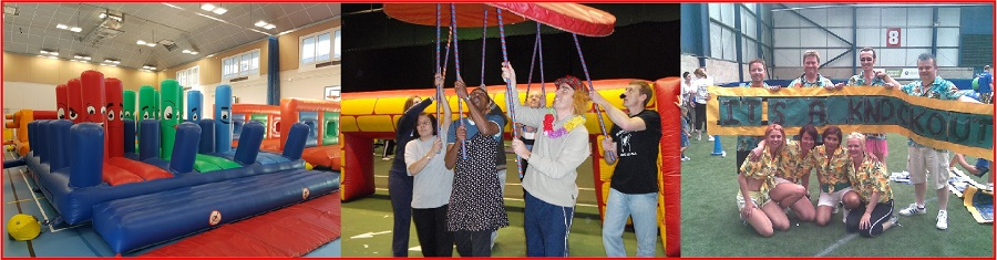 indoor it's a knockout games for christmas party