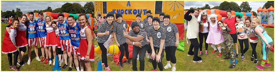 charity it's a knockout teams