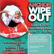 Anchor Wipeout It's A Knockout poster