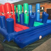 one of our new inflatable obstacles
