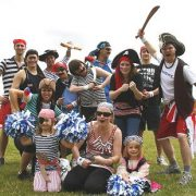 pirate fancy dress team