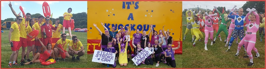 It's A Knockout teams 2019